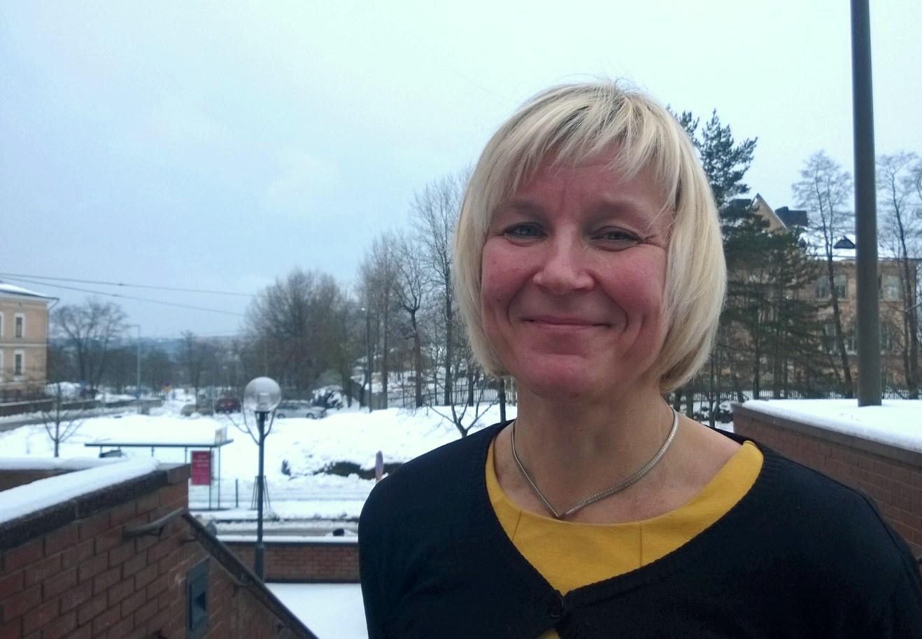 Barbara Heinonen, stadsdirektör i Mariehamn