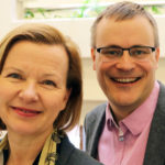 Outi Lehmijoki och Mattias Lindroth