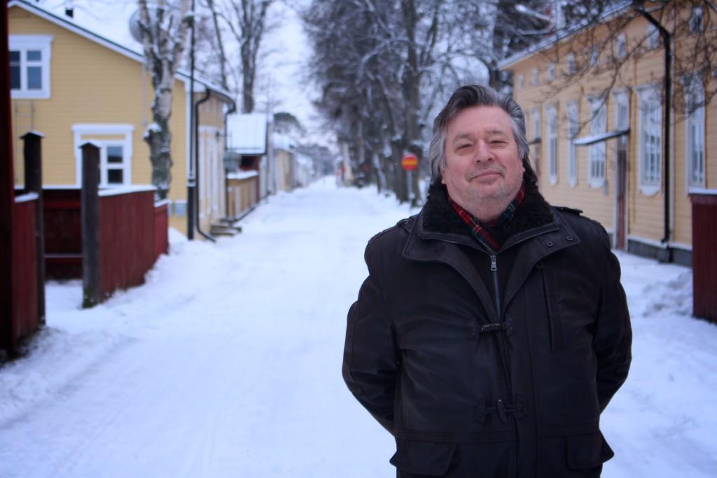 Medborgarforums ordförande Dennis Rundt vill att invånarna får större möjligheter att påverka beslutsfattandet i kommunerna. Foto: Patrick Stenbacka