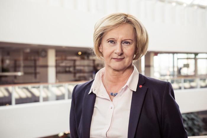 Lena Micko, ordförande för Sveriges Kommuner och Landsting