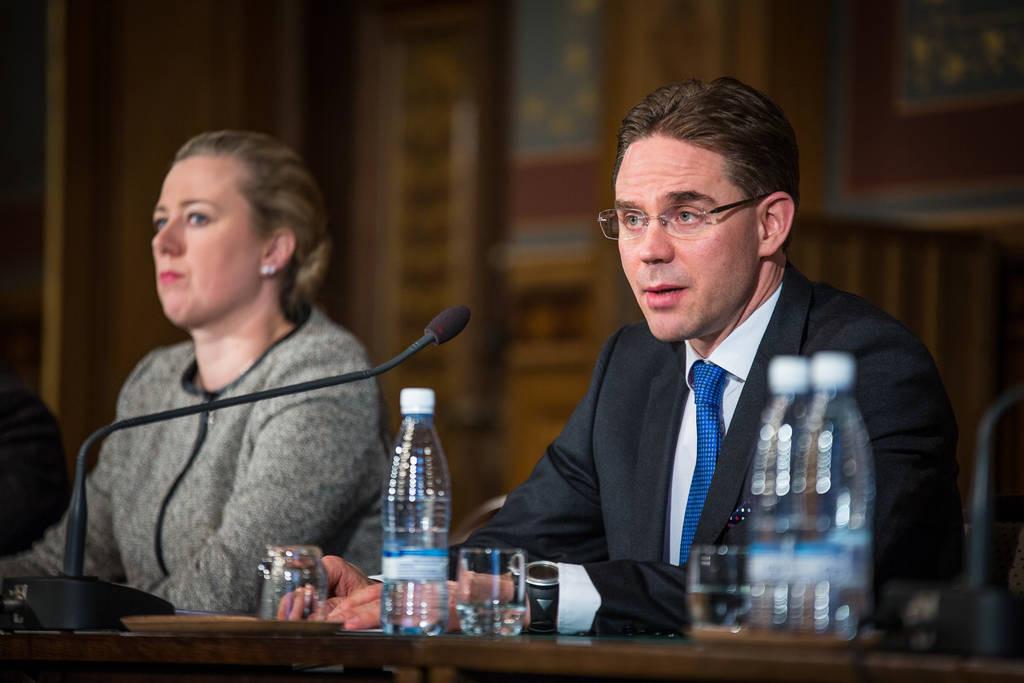 Jyrki Katainens (Saml) regering initierade ett stort antal reformer som berör den kommunala sektorn. Foto: Laura Kotila / Statsrådets kansli