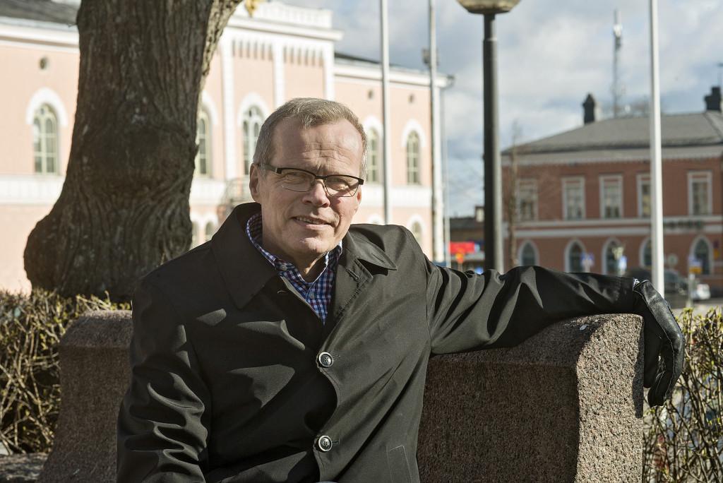 Olavi Kaleva, stadsdirektör i Lovisa. Foto: Linda Varoma