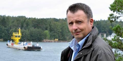 Vördås kommundirektör Magnus Sandberg blir direktör för Ålands kommunförbund i augusti. Foto: Privat