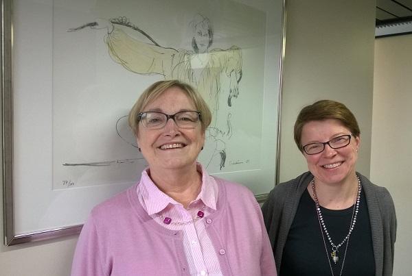Ditte Winqvist och Johanna Selkee är Kommunförbundets sakkunniga inom kultur.