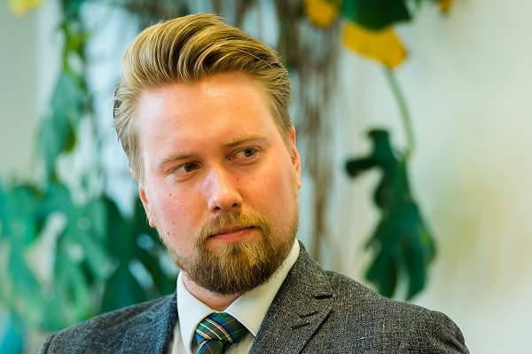 Niklas Mannfolk. Foto: Johan Hagström