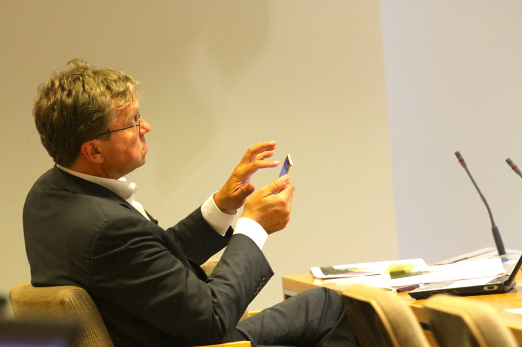 Pekka Sauri, biträdande stadsdirektör i Helsingfors. Foto: Ville Miettinen