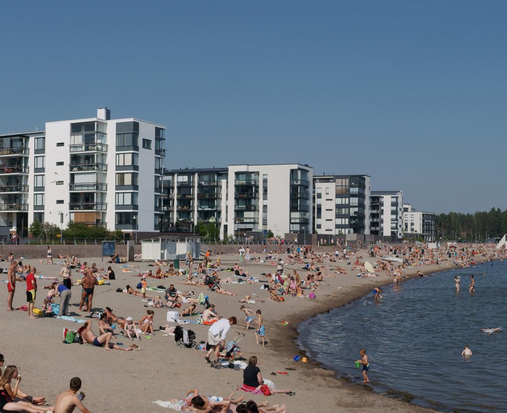 Solviksstranden, Helsingfors