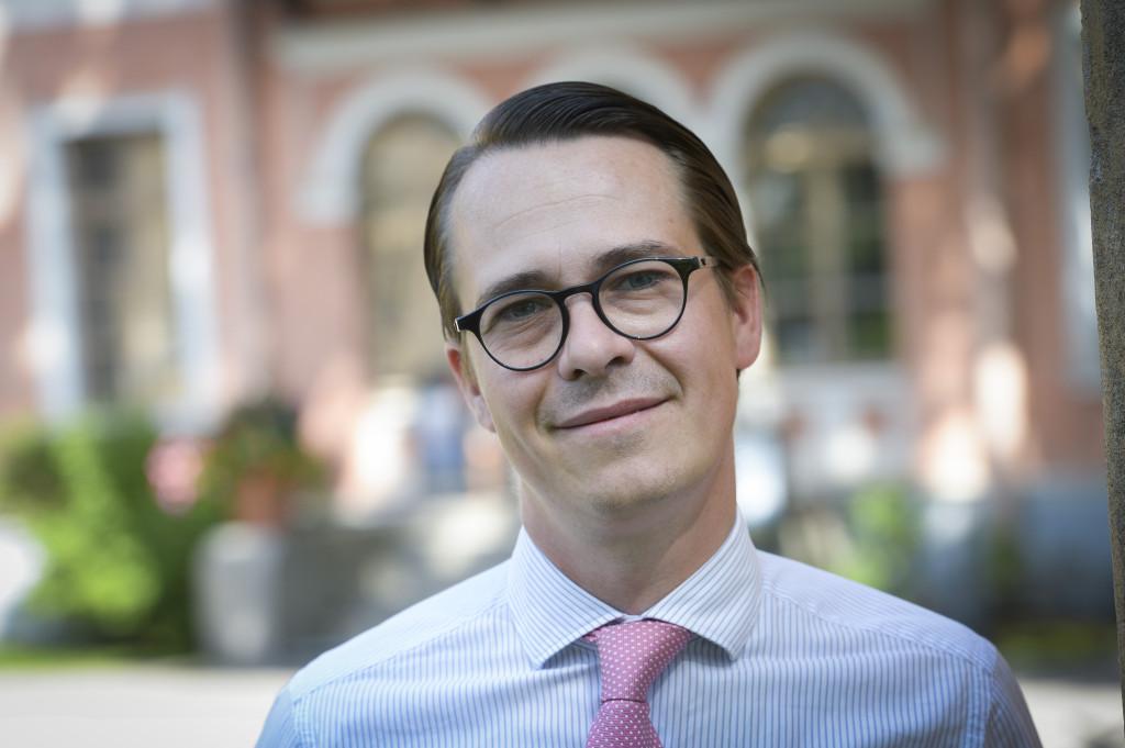 Carl Haglund. Foto: Kimmo Brandt