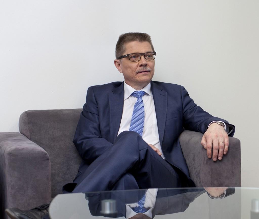 Arbetsmarknadsdirektör Markku Jalonen, KT.
