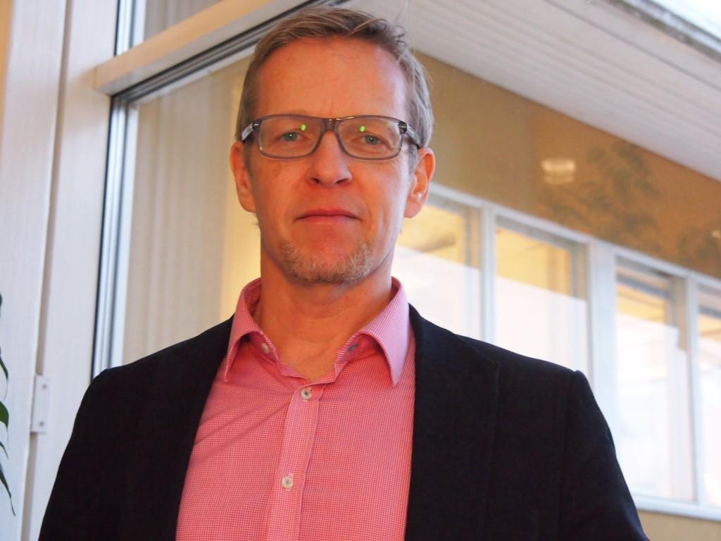 Patrik Nygren, stadsdirektör i Pargas.