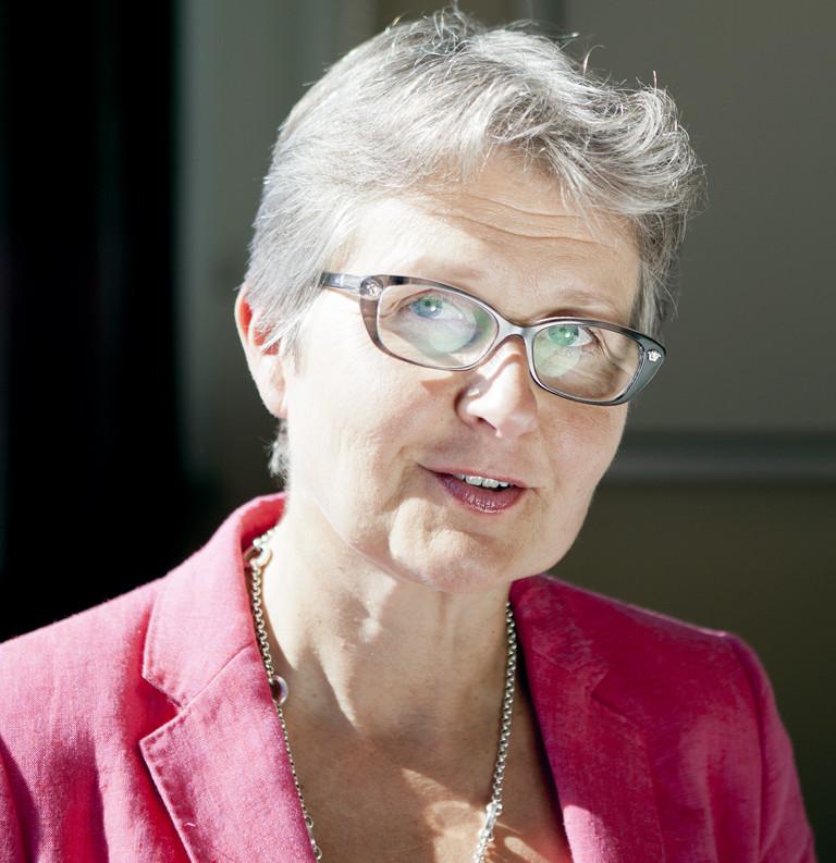 Kommunförbundets Tarja Myllärinen anser att vård- och regionreformen går åt rätt håll. (Foto: Henri Salonen)