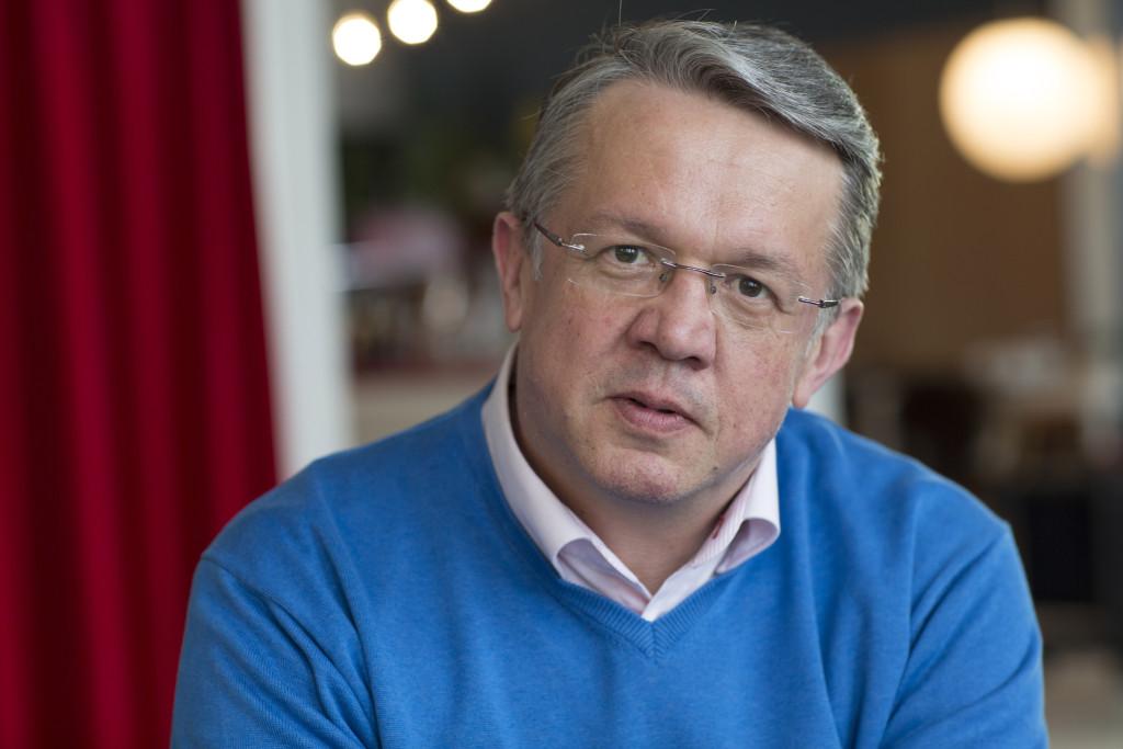 Familje- och omsorgsminister Juha Rehula (C). Foto: Katri Hyväkkä/Centerpartiets bildbank