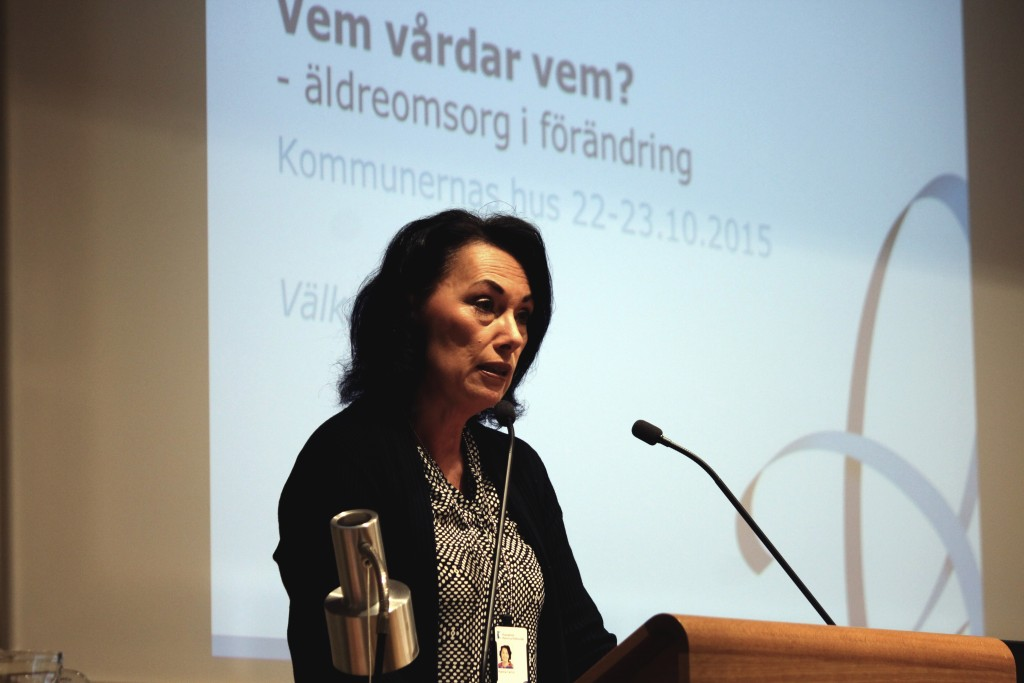 Kommunförbundets vice vd Hanna Tainio. (Arkivbild)