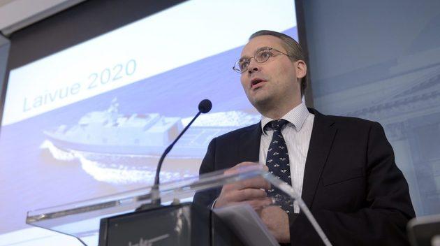 Jussi Niinistö var försvarsminister i regeringen Sipilä.