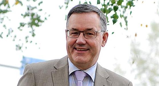 Stadsdirektör Hans-Erik Lindqvist, Närpes.