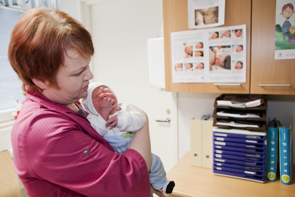 Mödra- och barnrådgivningen är en kommunal service som uppskattas av de allra flesta.