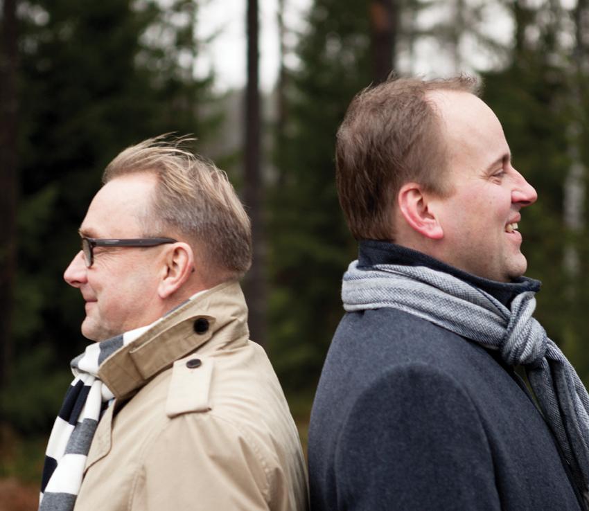 Denis Strandell och Tom Simola. Foto: Henri Salonen