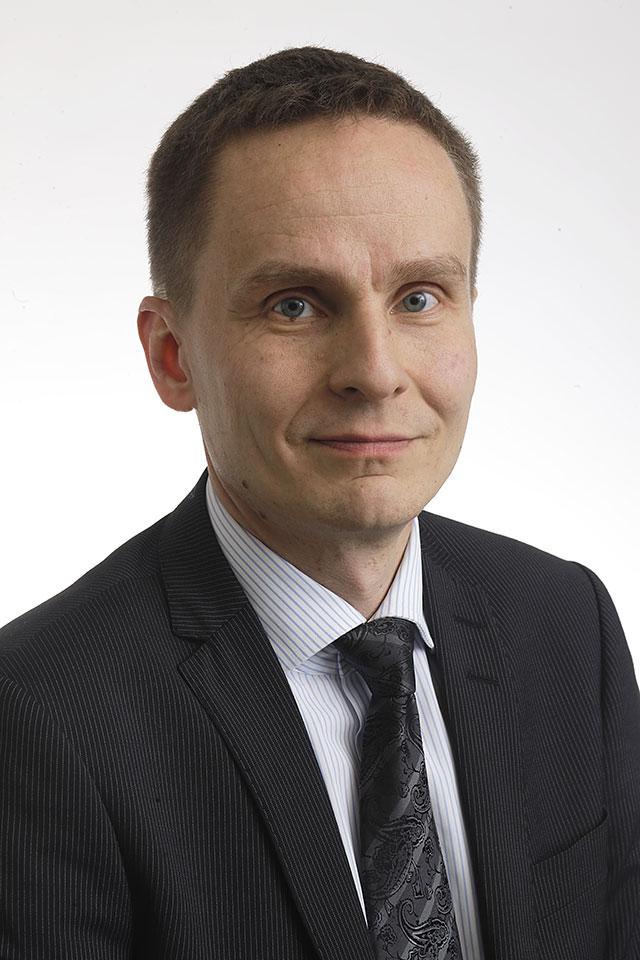 Ordförande för stadsstyrelsen i Helsingfors, Tatu Rauhamäki (Saml)