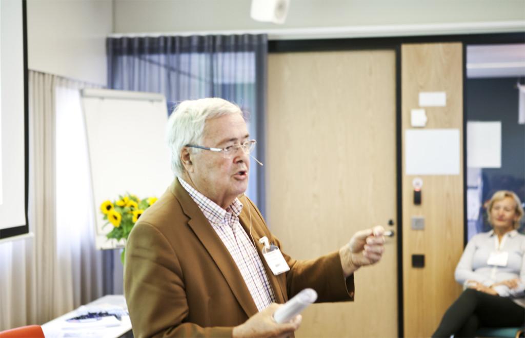 Svenska pensionärsförbundets ordförande Ole Norrback.