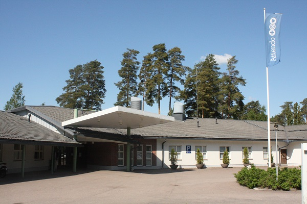 Pyttis hör till de kommuner som har lagt ut sin hälsovård till ett privat bolag. (Foto: Oskar Karlsson)