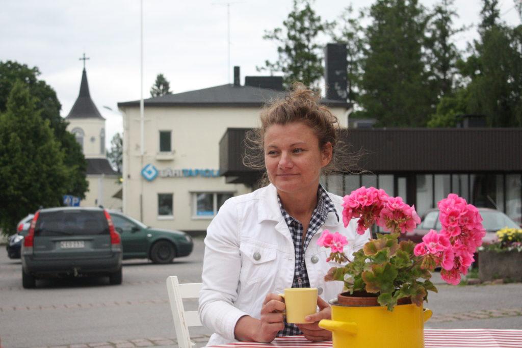 Christina Mickos. Bild: Oskar Karlsson.