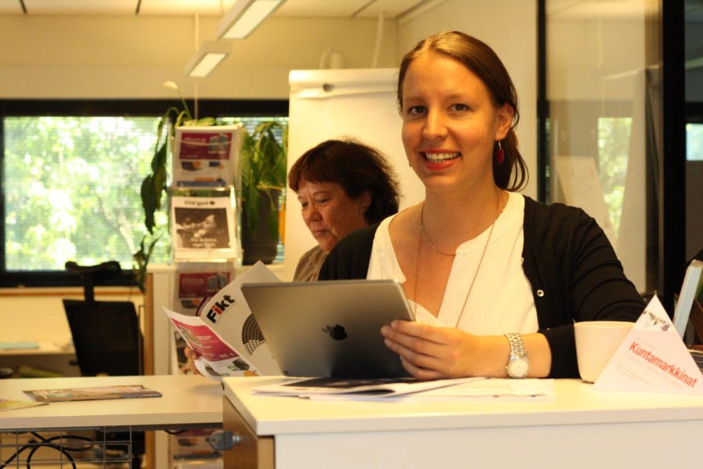 - Vi vill vara bäst på kommunala nyheter, säger Linda Grönqvist som efterträder Camilla Berggren som projektledare på Kommuntorget från 1.7.