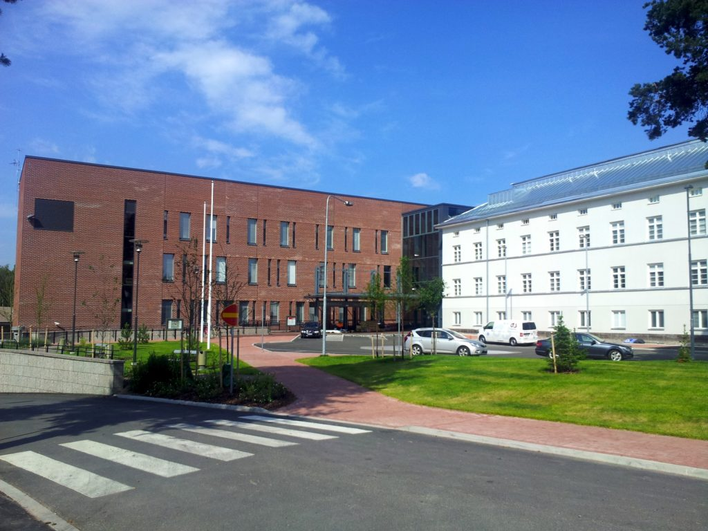 Malms sjukhus. Foto: Sonja Eloranta.