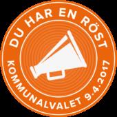Kommunalvalet 2017, logo 2