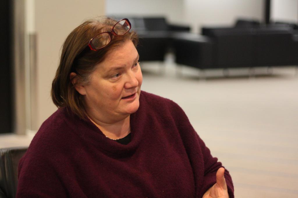 Minerva Krohn är upprörd över låst situation i Nyland. Foto: Linda Grönqvist
