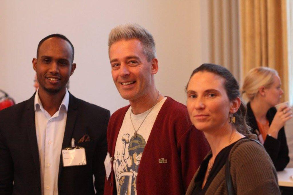 Ahmed Hassan, Tobias Pötzsch och Ann-Jolin Grüne.