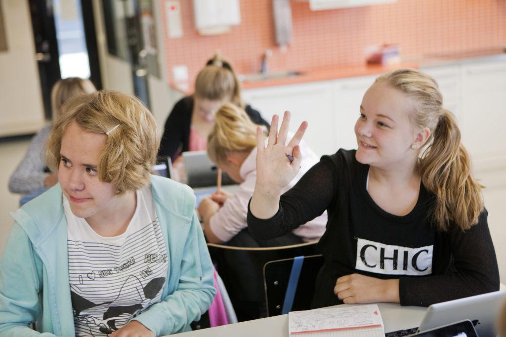 Regeringen har nått enighet om att starta ett experiment som gör skolsvenskan frivillig för 2 200 elever.