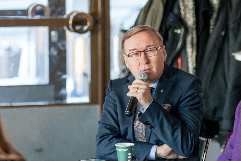 Kommunförbundets vice vd Timo Reina.