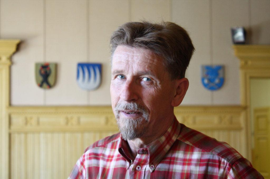 Carl-Gustav Mangs (SFP), är stadsstyrelseordförande i Kaskö.