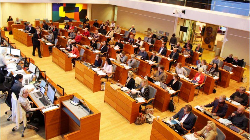 Sparprogrammet behandlas i Esbofullmäktige i oktober.
