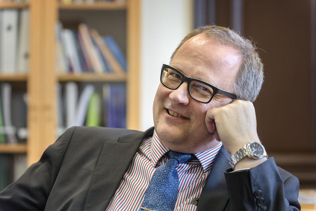 Vasas stadsdirektör stadsdirektör Tomas Häyry säger att dialogen med stadens företagare och föreningar varit viktig.