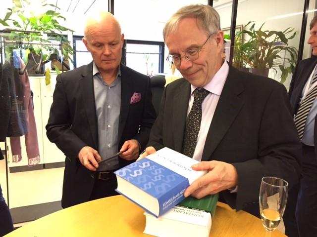 Heikki Harjula och Kari Prättälä.