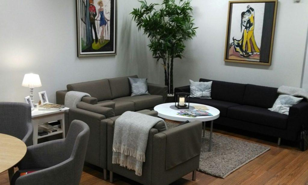 Så här ser ett rum i Attendos Mummola-koncept ut.