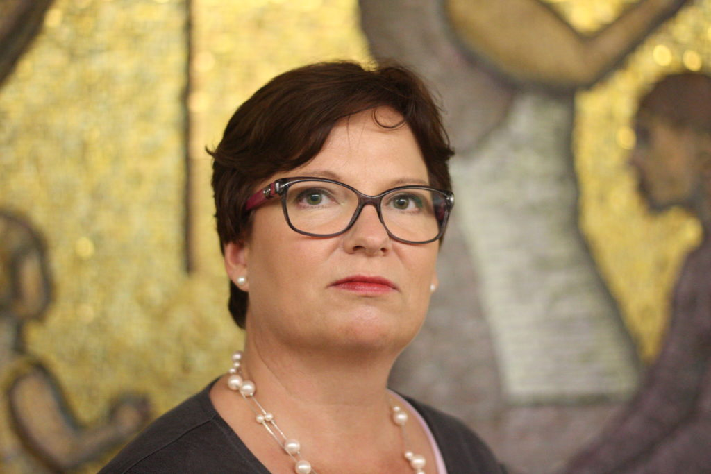 Sofia Ulfstedt, direktör för Kårkulla samkommun.