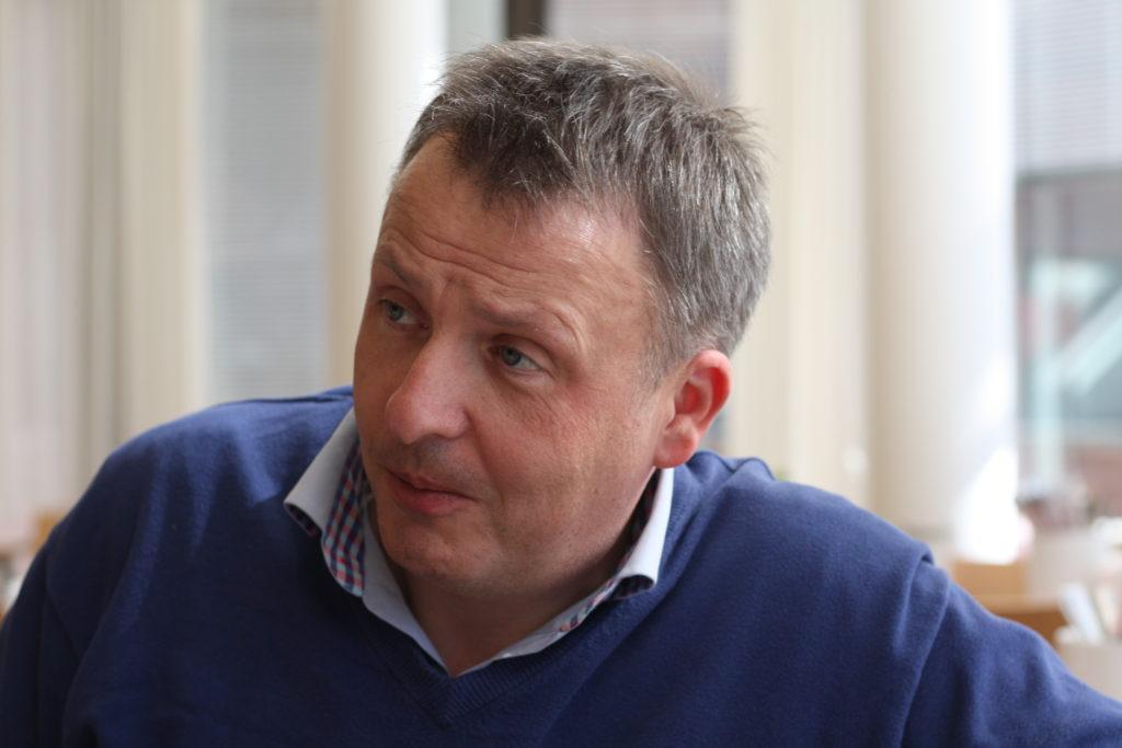 Magnus Sandberg, direktör för Ålands kommunförbund.