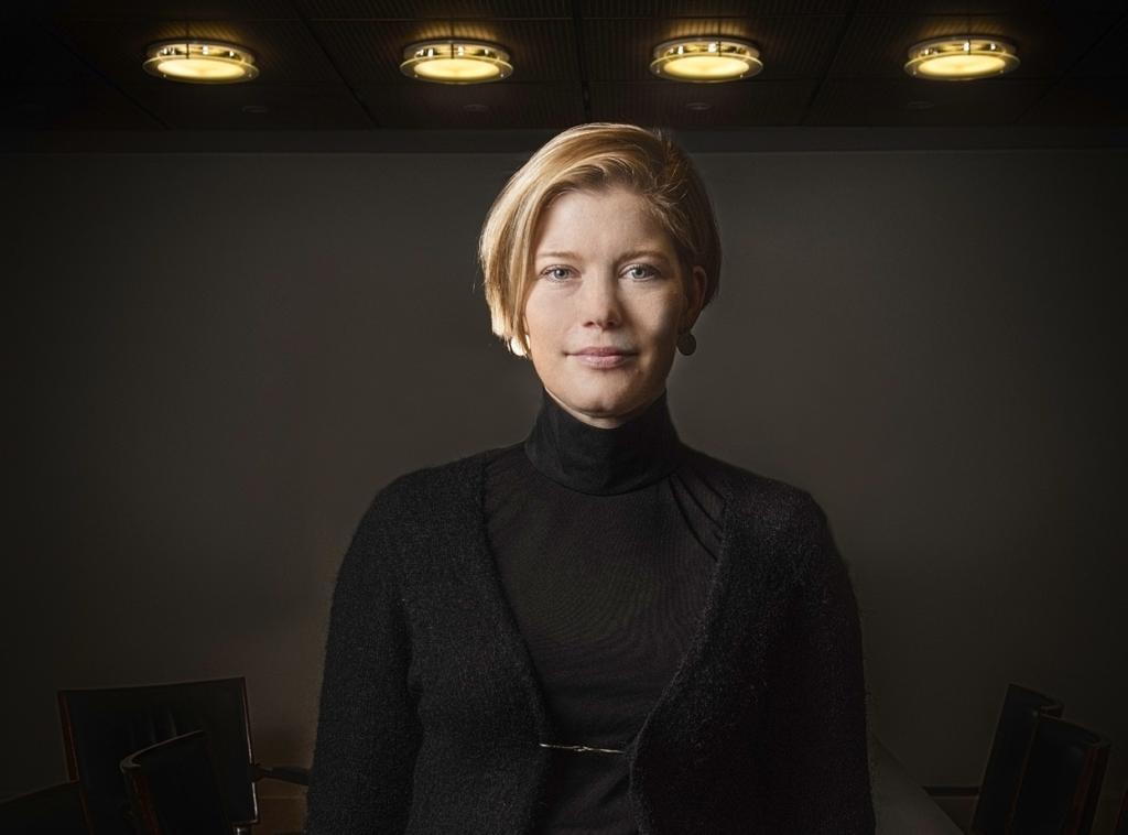 Heidi Schauman. FOTO: KARL VILHJÁLMSSON