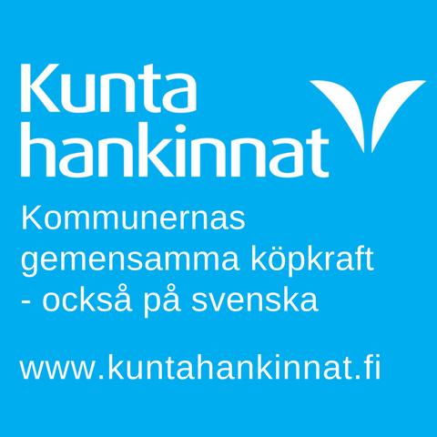 Kuntahankinnat reklam. Kommunernas gemensamma köpkraft - också på svenska