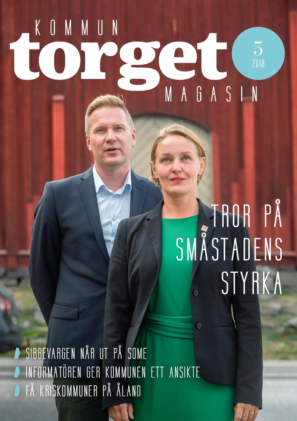 Kommuntorget Magasin, omslagsbild nummer 3/2018