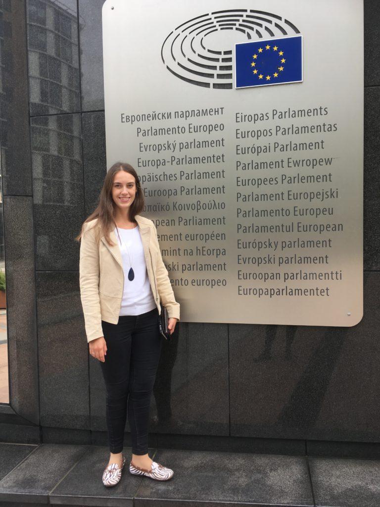 Europaparlamentet är ett ställe jag kommer att besöka en hel del under året.