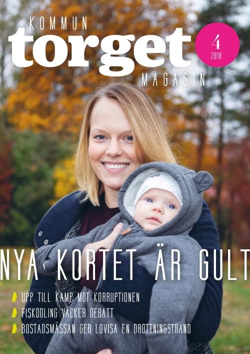 Kommuntorget Magasin, omslagsbild nummer 4/2018