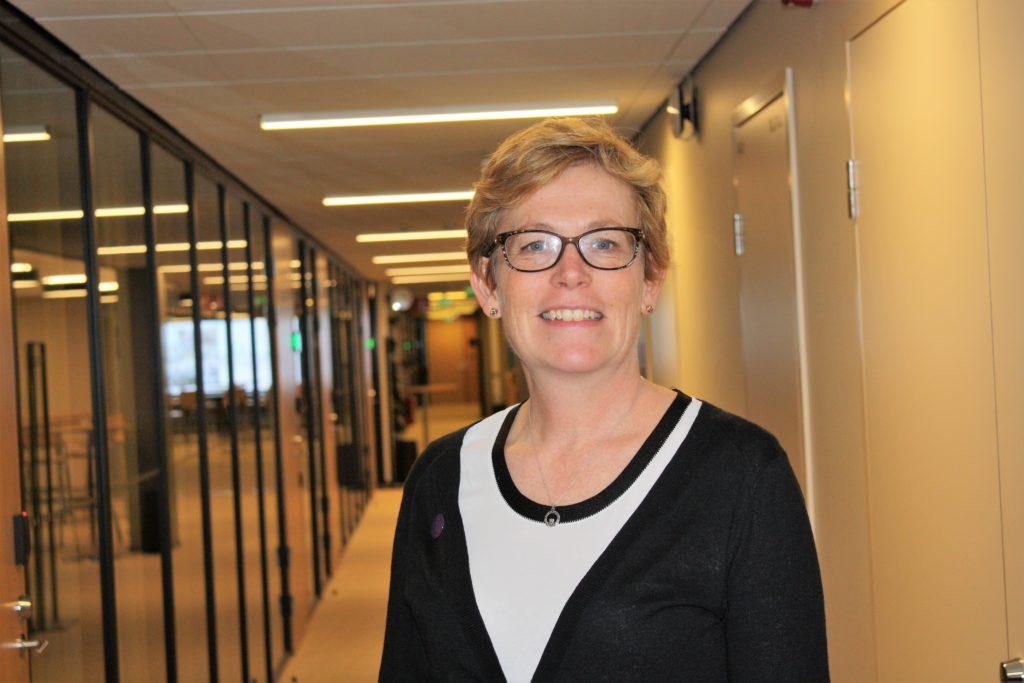Christina Gestrin kommer liksom andra i svenska teamet att jobba över språkgränserna.