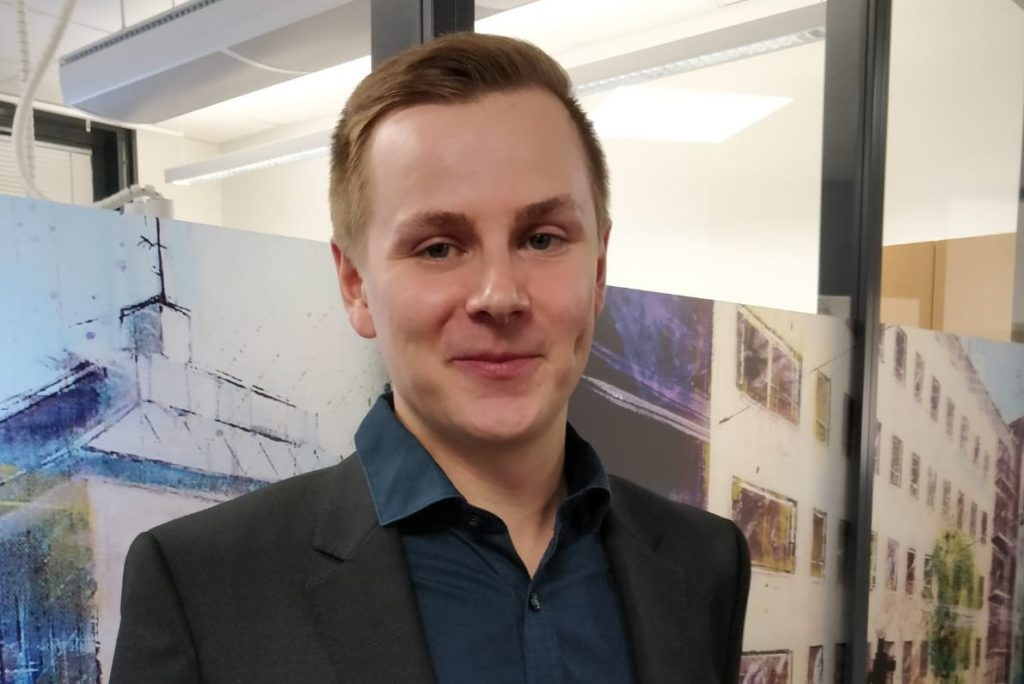 Teemu Heinonen är Finlands yngsta kommundirektör.