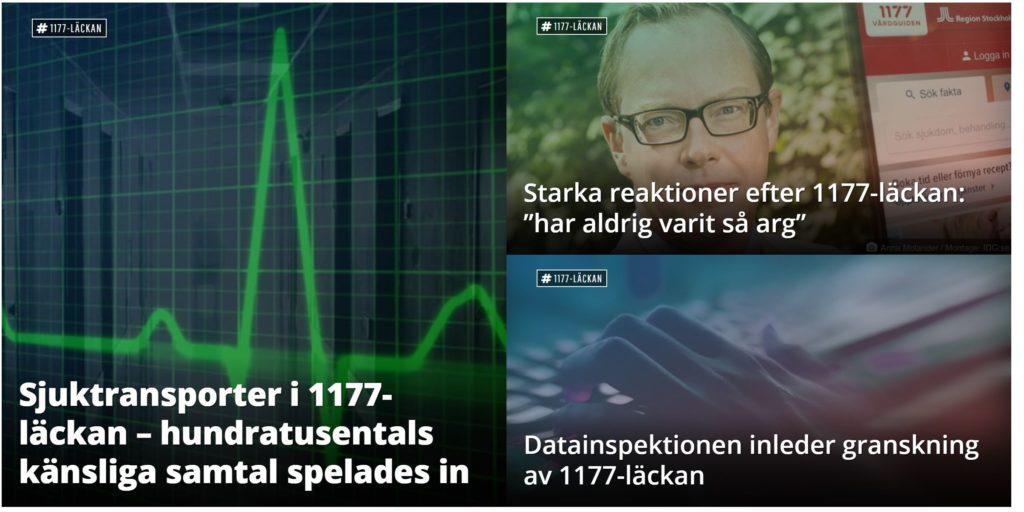 Det är den svenska nyhetssajten Computer Sweden som avslöjade #1177-gate.