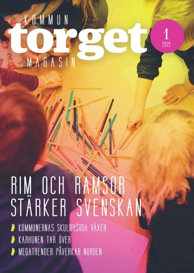 Kommuntorget Magasin, omslagsbild nummer 1/2019