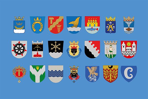 Till C21-nätverket hör Helsingfors, Esbo, Tammerfors, Vanda, Uleåborg, Åbo, Jyväskylä, Lahtis, Kuopio, Kouvola, Björneborg, Joensuu, Villmanstrand, Tavastehus, Vasa, Rovaniemi, Seinäjoki, S:t Michel, Kotka, Salo och Borgå.