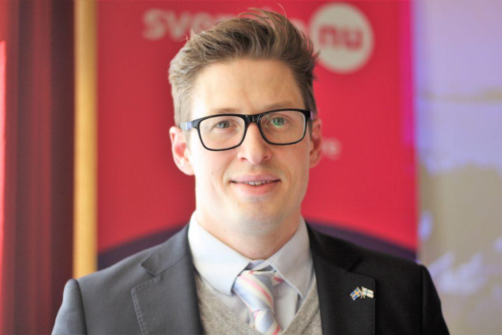 Mikael Hiltunen är projektchef för Nätverket Svenska nu.